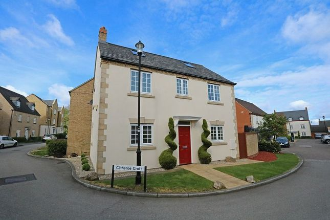 Thumbnail Detached house for sale in Clitheroe Croft, Kingsmead, Milton Keynes
