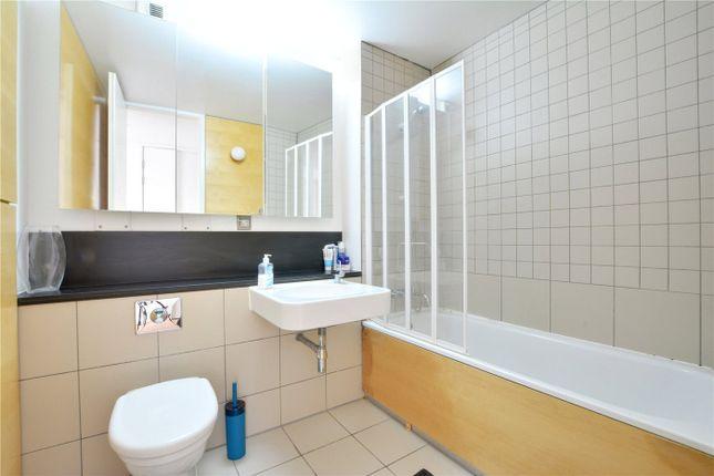 Bathroom of Becquerel Court, West Parkside, Greenwich, London SE10