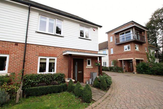 Thumbnail End terrace house for sale in Blackthorns, Fleet