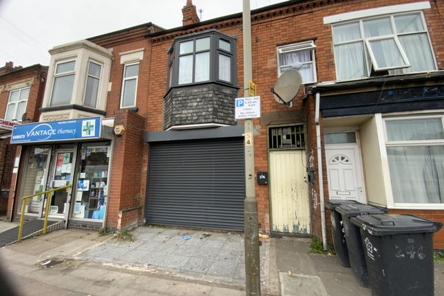 Thumbnail Commercial property for sale in Victoria Road East, Leicester, Leicestershire