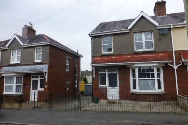 Thumbnail Semi-detached house to rent in Myrddin Crescent, Carmarthen