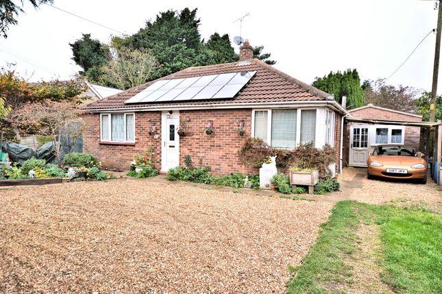 Thumbnail Detached bungalow for sale in Centre Vale, Dersingham, King's Lynn
