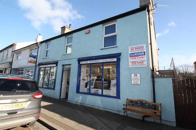 Thumbnail Flat for sale in First Floor Flat, 16 High Street, Cemaes Bay