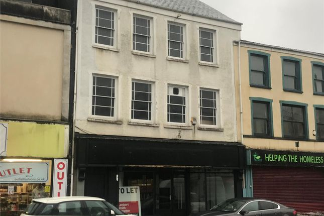 Thumbnail Retail premises to let in Ground Floor, 58 Cardiff Street, Aberdare