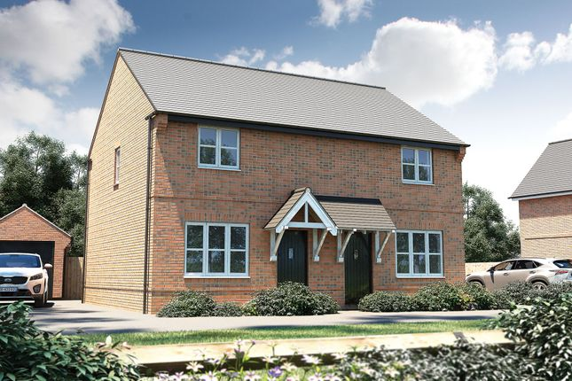 "Thumbnail Terraced house for sale in ""The Hindhead"" at Stocks Lane, Winslow, Buckingham"