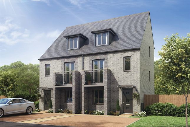 "Thumbnail Semi-detached house for sale in ""The Gloucester"" at Whinney Hill, Durham"