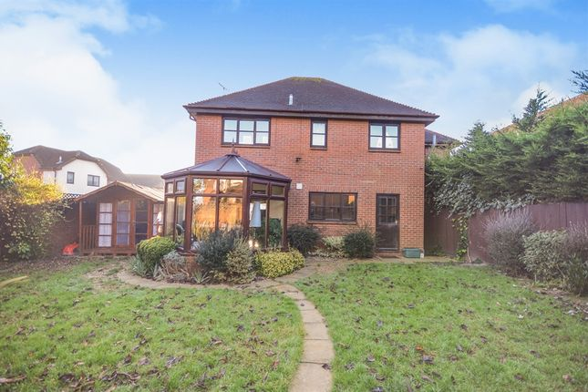 Thumbnail Detached house for sale in Ramshaw Drive, Springfield, Chelmsford