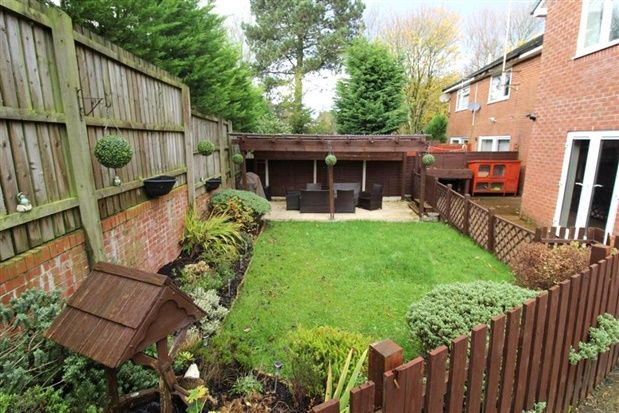 Rear Garden of Barleyfield, Preston PR5