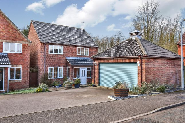 Thumbnail Detached house for sale in Clover Way, Fakenham