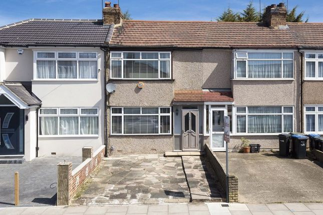 Thumbnail Terraced house for sale in Albany Park Avenue, Enfield