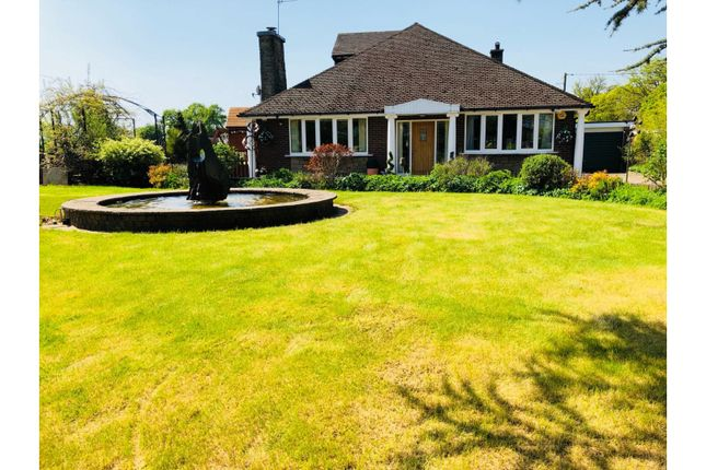 Thumbnail Detached bungalow for sale in Booth Lane, Sandbach