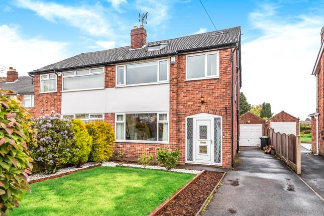 Thumbnail Semi-detached house for sale in Chandos Garth, Chapel Allerton, Leeds, West Yorkshire