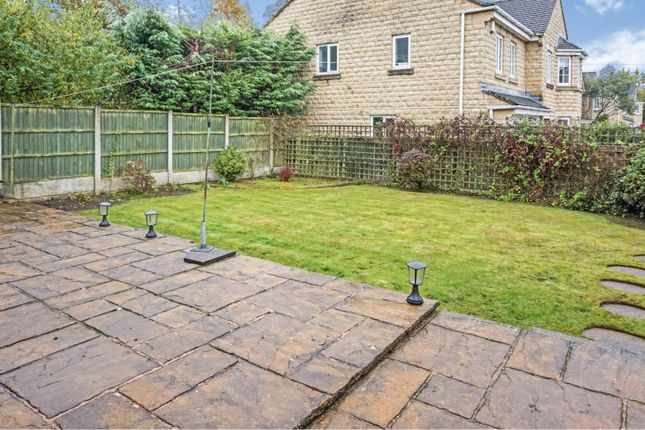 Rear Garden of Kings Stand, Mansfield NG18