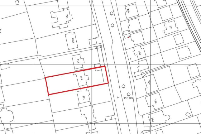 Thumbnail Land for sale in Riddlesdown Road, Purley
