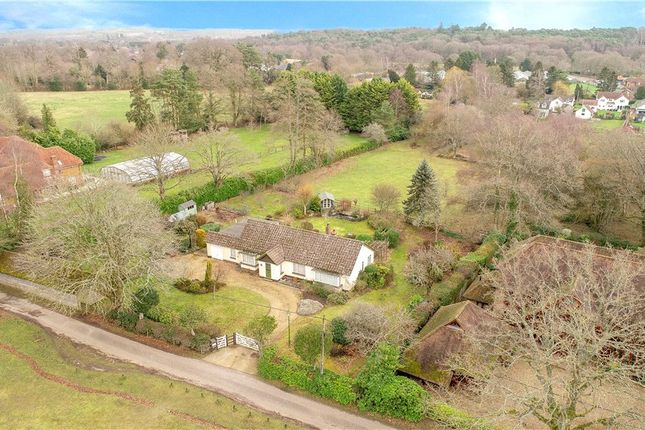 Thumbnail Detached bungalow for sale in Canada Common, West Wellow, Romsey, Hampshire