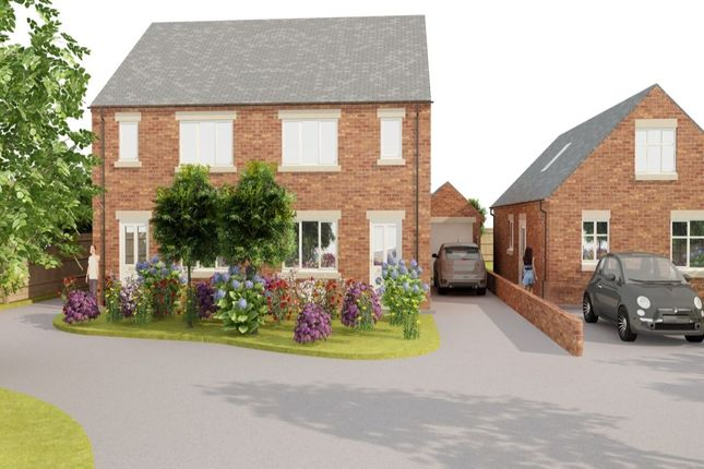 Thumbnail Semi-detached house for sale in Plot Two Pilsley Road, Danesmoor, Chesterfield