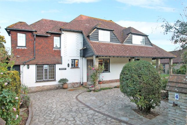 Thumbnail Detached house for sale in The Roundway, Rustington, West Sussex
