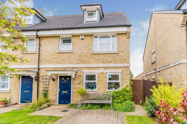 Thumbnail End terrace house for sale in Marshall Square, Banister Park, Southampton