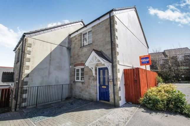 Thumbnail Semi-detached house for sale in Penwithick, St. Austell, Cornwall