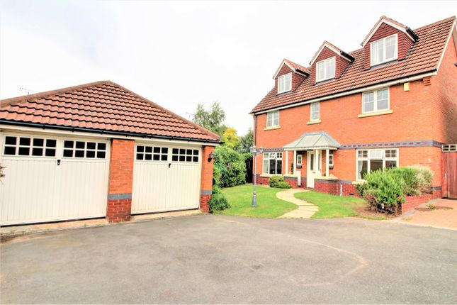 Thumbnail Detached house for sale in Okehampton Drive, West Bromwich
