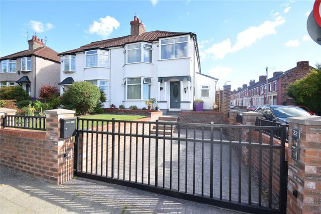 Thumbnail Semi-detached house for sale in Church Road, Wavertree, Liverpool