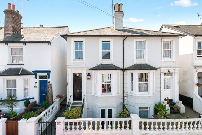 Thumbnail Semi-detached house for sale in Vincent Road, Dorking, Surrey