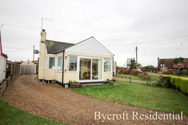 Thumbnail Detached bungalow for sale in Beach Drive, Scratby, Great Yarmouth