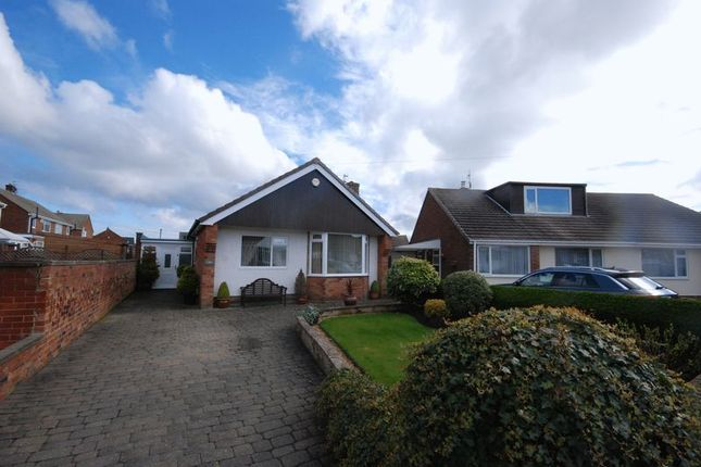 Thumbnail Detached bungalow for sale in Abbots Close, Choppington
