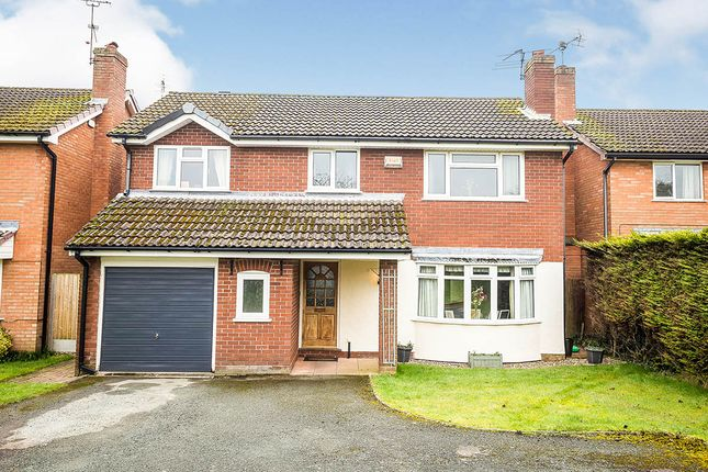 Thumbnail Detached house for sale in Cabin Lane, Oswestry, Shropshire