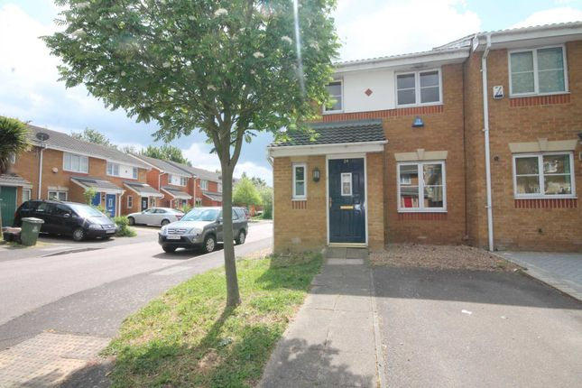 Thumbnail Semi-detached house for sale in Poppy Close, Belvedere