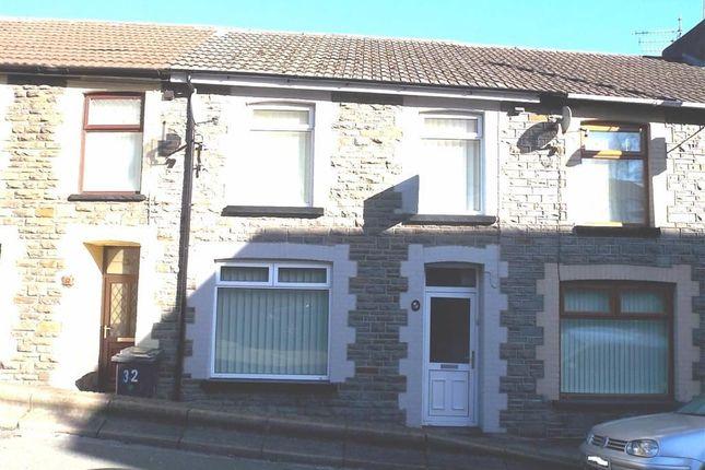 Thumbnail Terraced house to rent in Bassett Street, Abercynon, Mountain Ash