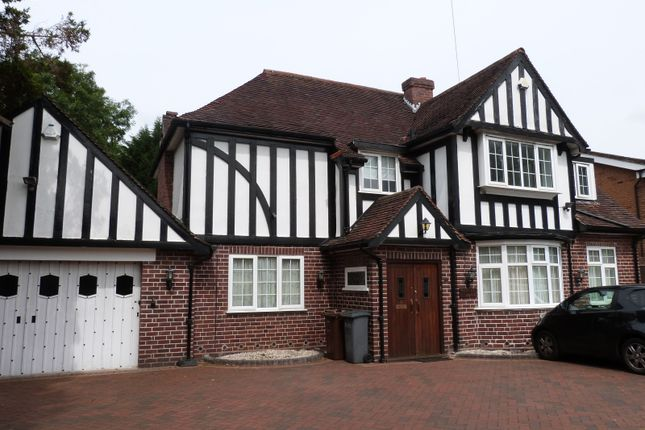 Thumbnail Detached house to rent in Lady Byron Lane, Knowle, Solihull