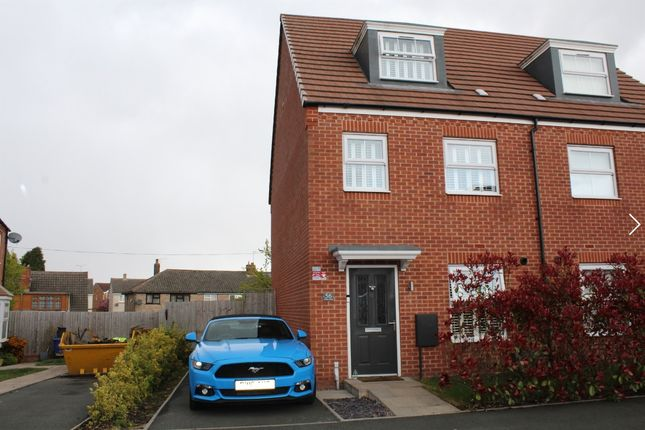 3 bed semi-detached house for sale in Willow Road, Norton Canes, Cannock WS11