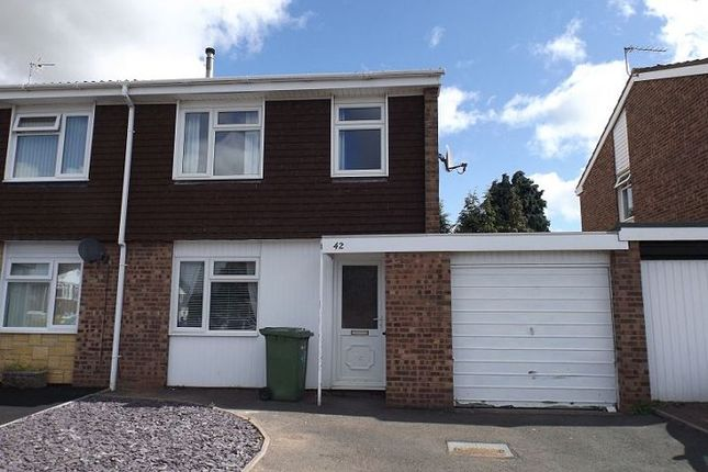 Thumbnail Semi-detached house to rent in Ambleside, Yazor Road, Hereford