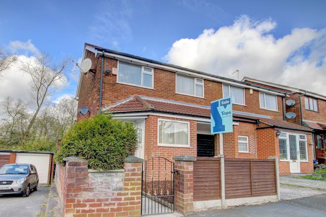 Thumbnail Semi-detached house for sale in Halford Drive, Moston, Manchester