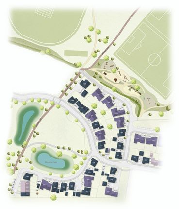 Site Plan of Worthing Road, Southwater RH13