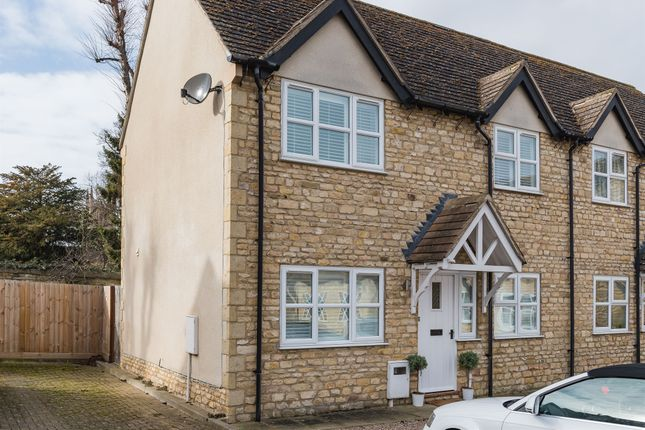 Thumbnail Semi-detached house for sale in Daniel Court, Stamford