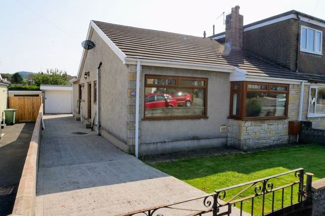Thumbnail Semi-detached bungalow for sale in York Drive, Crown Hill, Llantwit Fardre