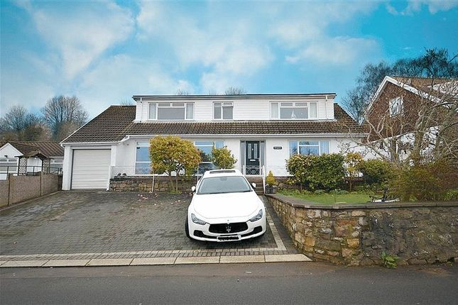 Thumbnail Detached house for sale in Leigh Road, Trevethin, Pontypool
