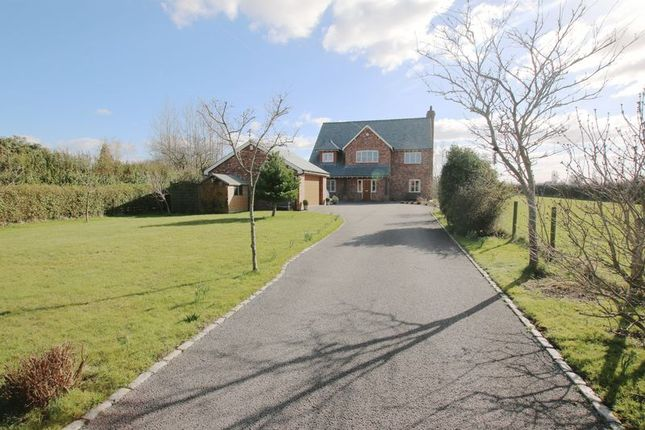 Thumbnail Detached house for sale in Ashville, Station Road, Little Hoole