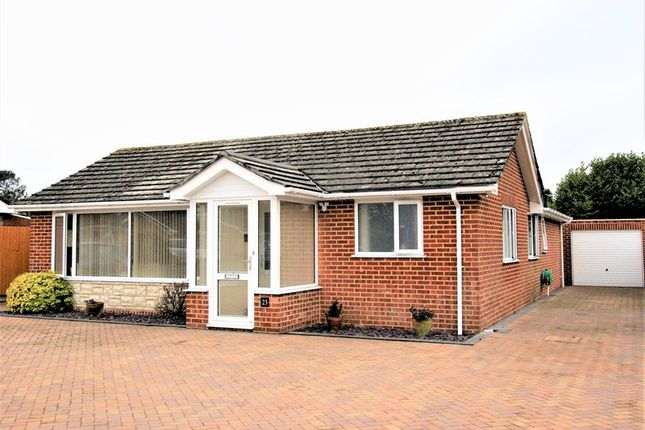 Thumbnail Detached bungalow for sale in Dalkeith Road, Corfe Mullen, Wimborne