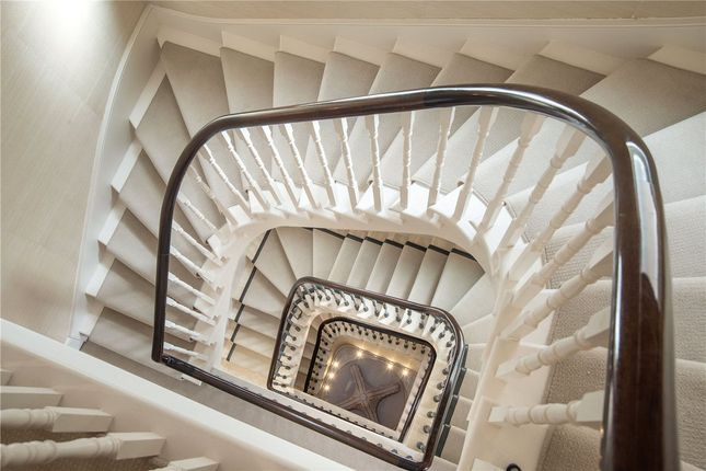 Stairs of Upper Phillimore Gardens, Kensington, London W8