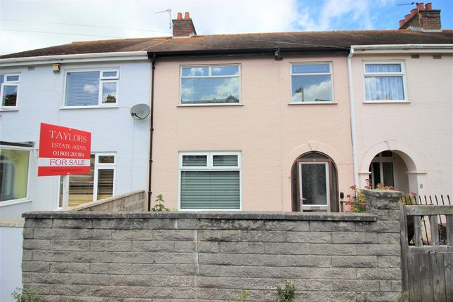 3 Bed Terraced House For Sale In Hill Park Road Torquay