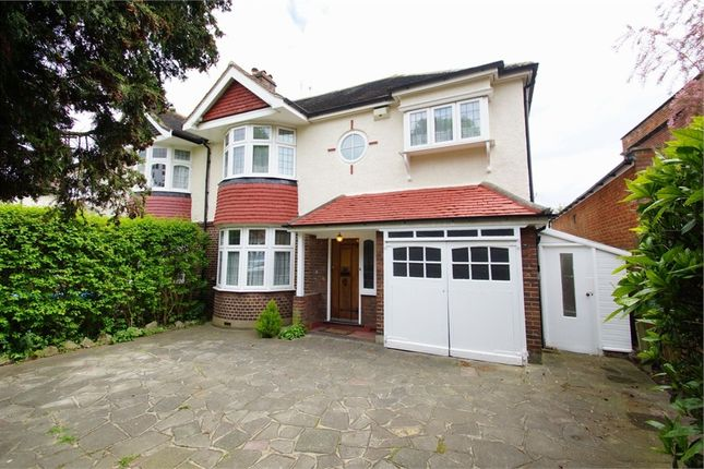 Thumbnail Semi-detached house for sale in Selborne Road, Sidcup, Kent