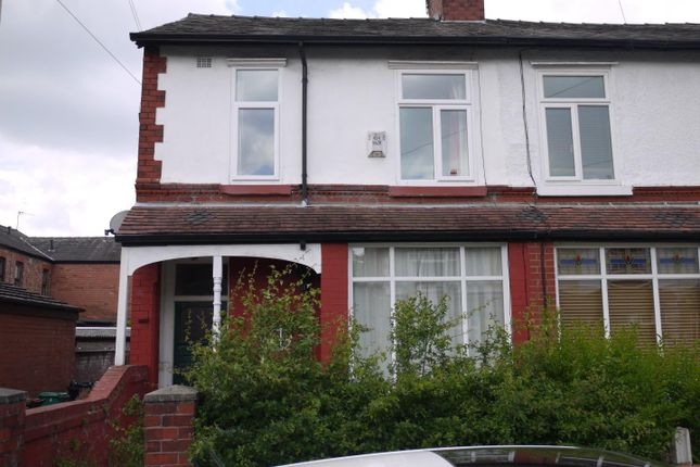 Thumbnail Property to rent in Catterick Road, Didsbury, Manchester