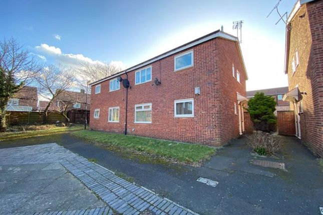 Thumbnail 1 bed flat for sale in Whittingham Close, North Shields