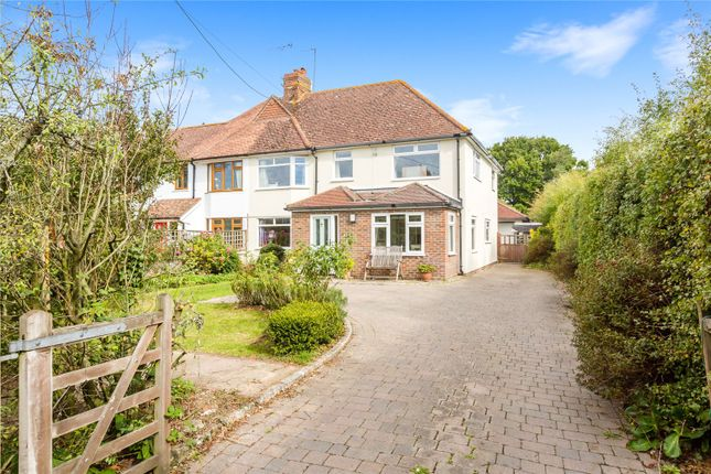 Thumbnail Semi-detached house for sale in Chalkers Lane, Hurstpierpoint, West Sussex