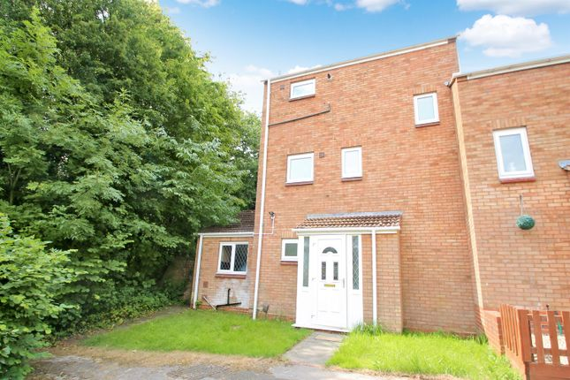 Thumbnail End terrace house to rent in Patch Lane, Redditch