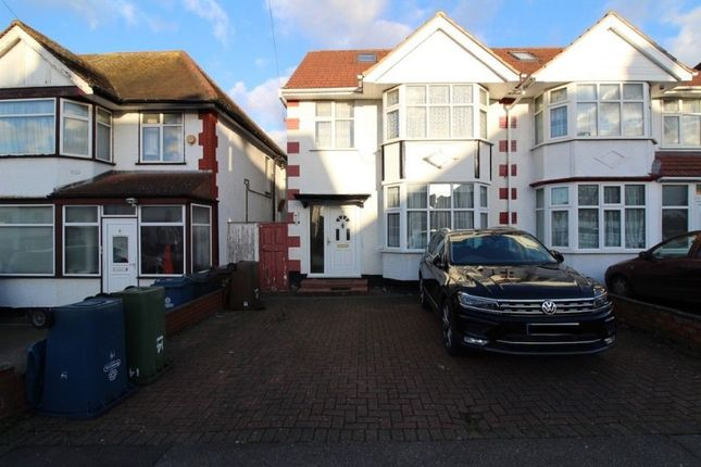 Thumbnail Semi-detached house to rent in Rayners Lane, Harrow, Middlesex