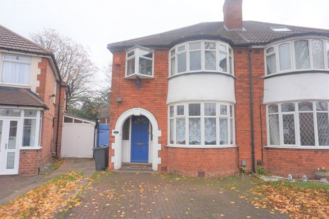 Thumbnail Semi-detached house for sale in Enstone Road, Erdington, Birmingham